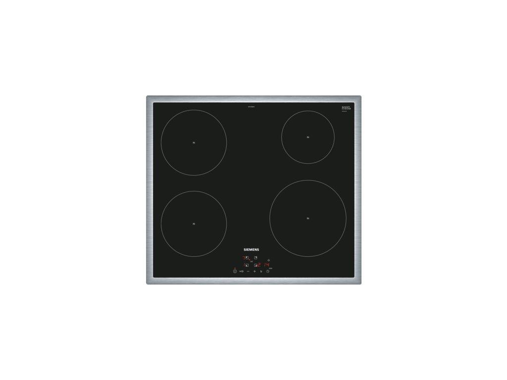 iQ100 Indukční varná deska 60 cm Černá EH645BEB1E