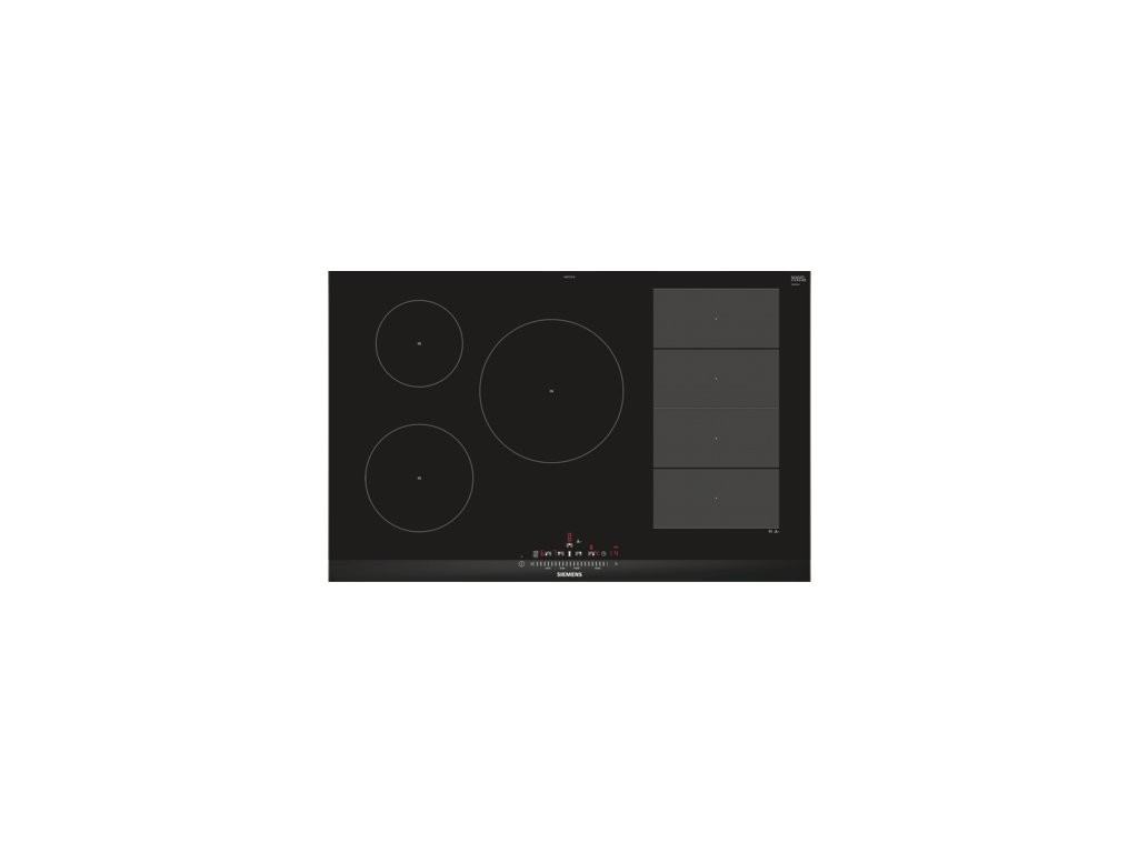 iQ700 Indukční varná deska 80 cm Černá EX875FVC1E