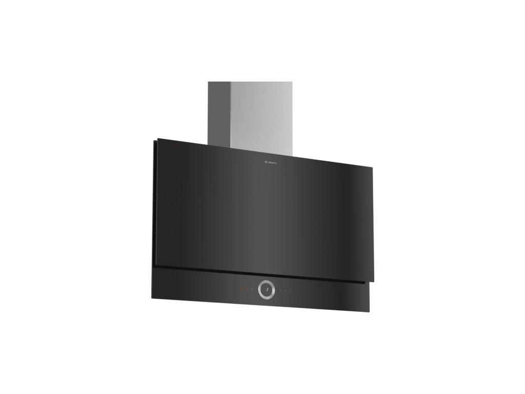 Serie | 8 Nástěnný odsavač par 90 cm černé sklo DWF97RV60