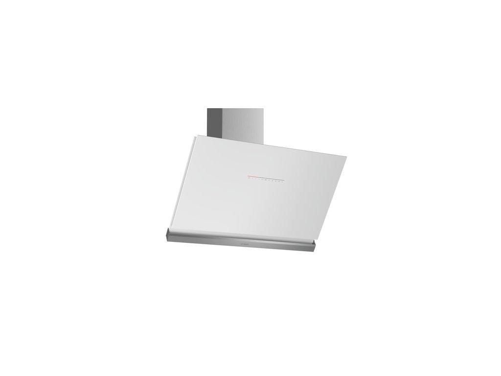 Serie | 8 Nástěnný odsavač par 90 cm čisté sklo s bílým potiskem DWK98PR20