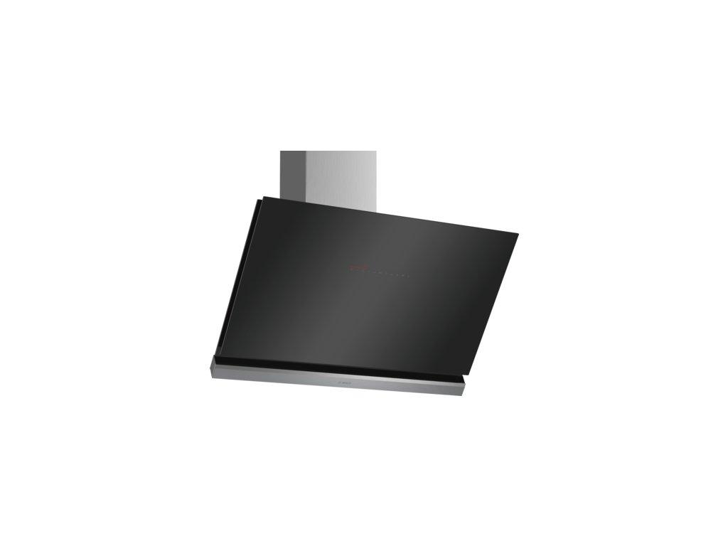 Serie   8 Nástěnný odsavač par 90 cm černé sklo DWK98PR60
