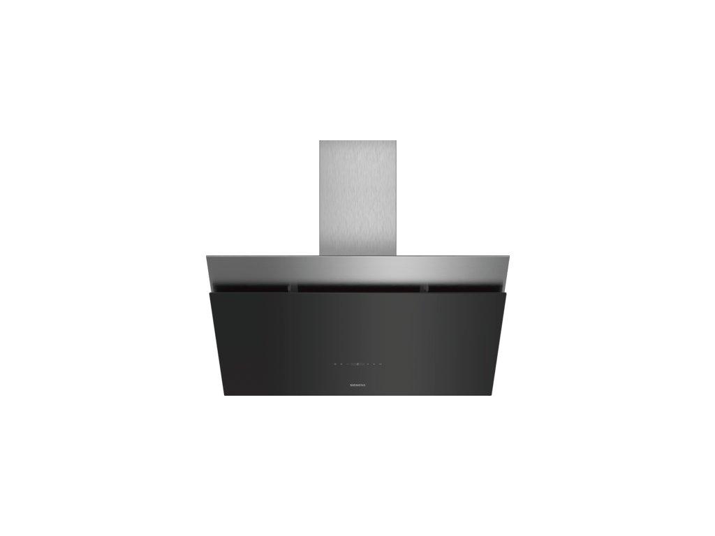 iQ500 Nástěnný odsavač par 90 cm černé sklo LC98KPP60