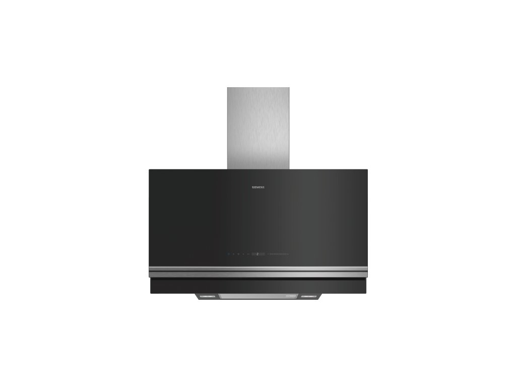iQ700 Nástěnný odsavač par 90 cm černé sklo LC97FVW60