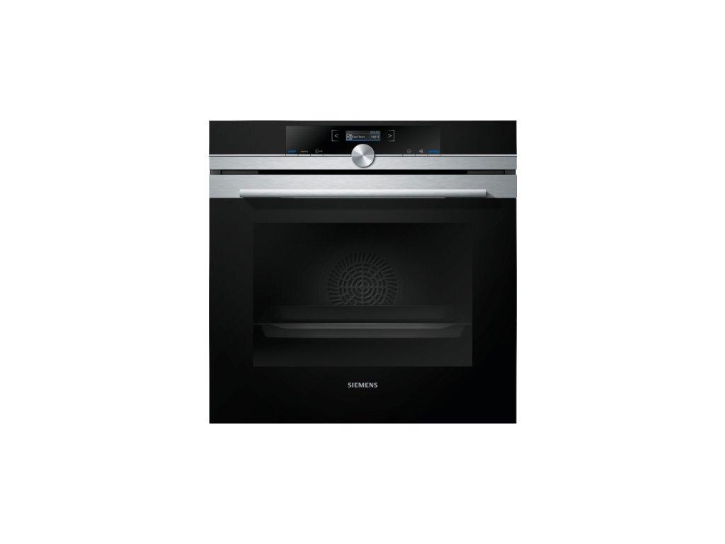 iQ700 Vestavná pečicí trouba 60 x 60 cm nerez HB634GBS1