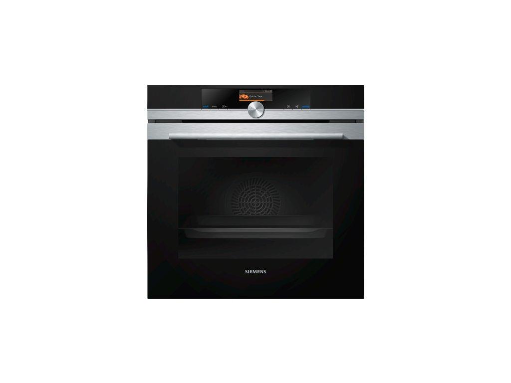 iQ700 Vestavná pečicí trouba 60 x 60 cm nerez HB676G5S6