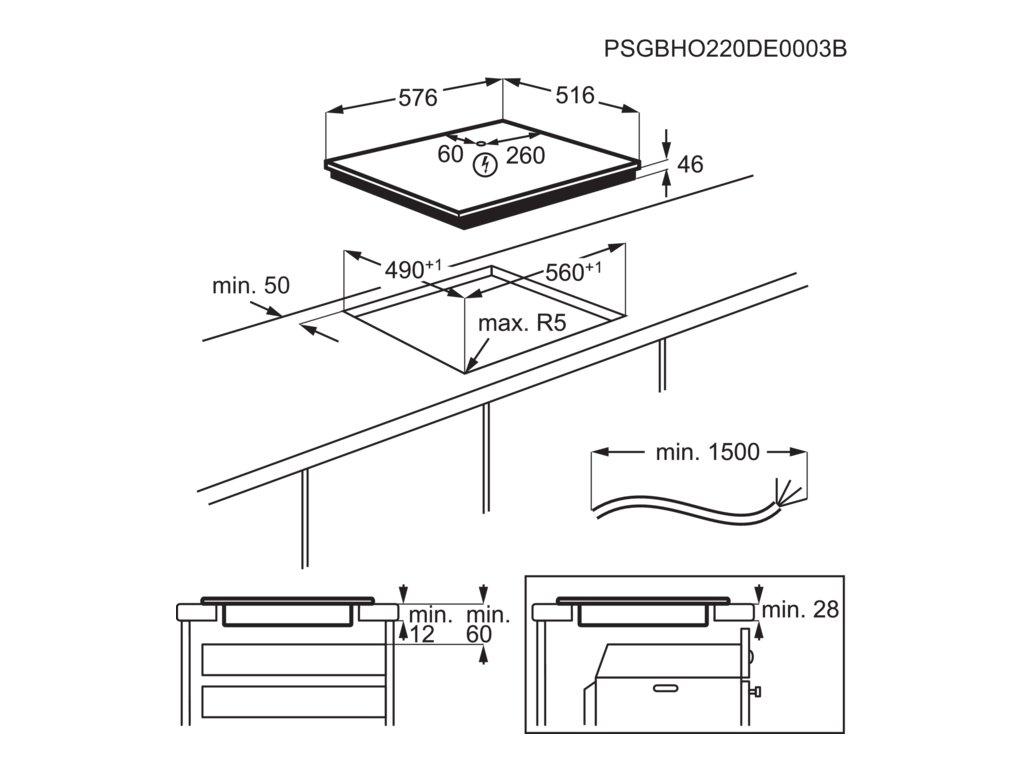 IKB64431XB                                                  Varná deska indukční základní indukce 60 cm