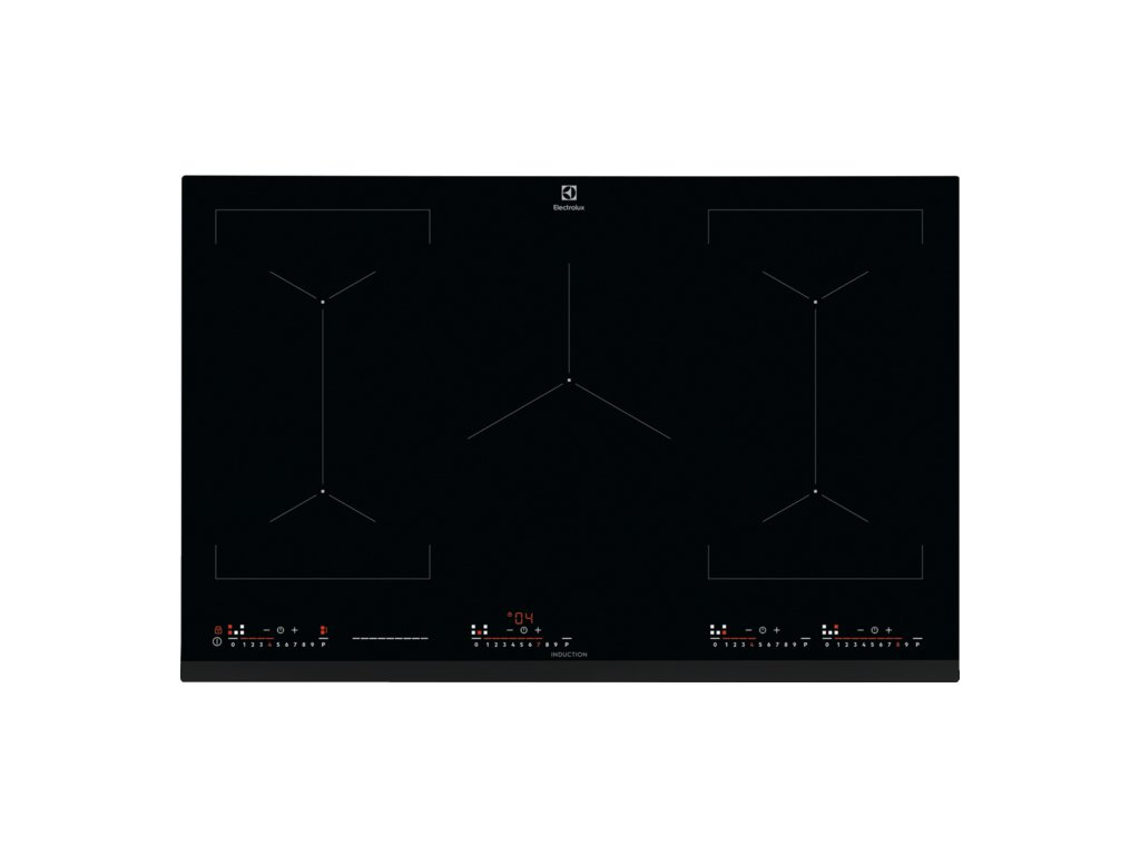 Electrolux, Varná deska indukční 2x Bridge 80 cm EIV8457
