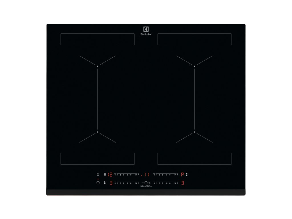 EIV644                                                  Varná deska indukční 2x Bridge 60 cm