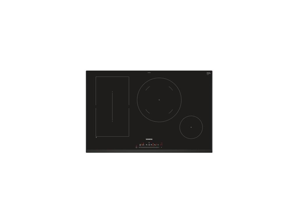 iQ500 Indukční varná deska 80 cm Černá ED851FSB5E