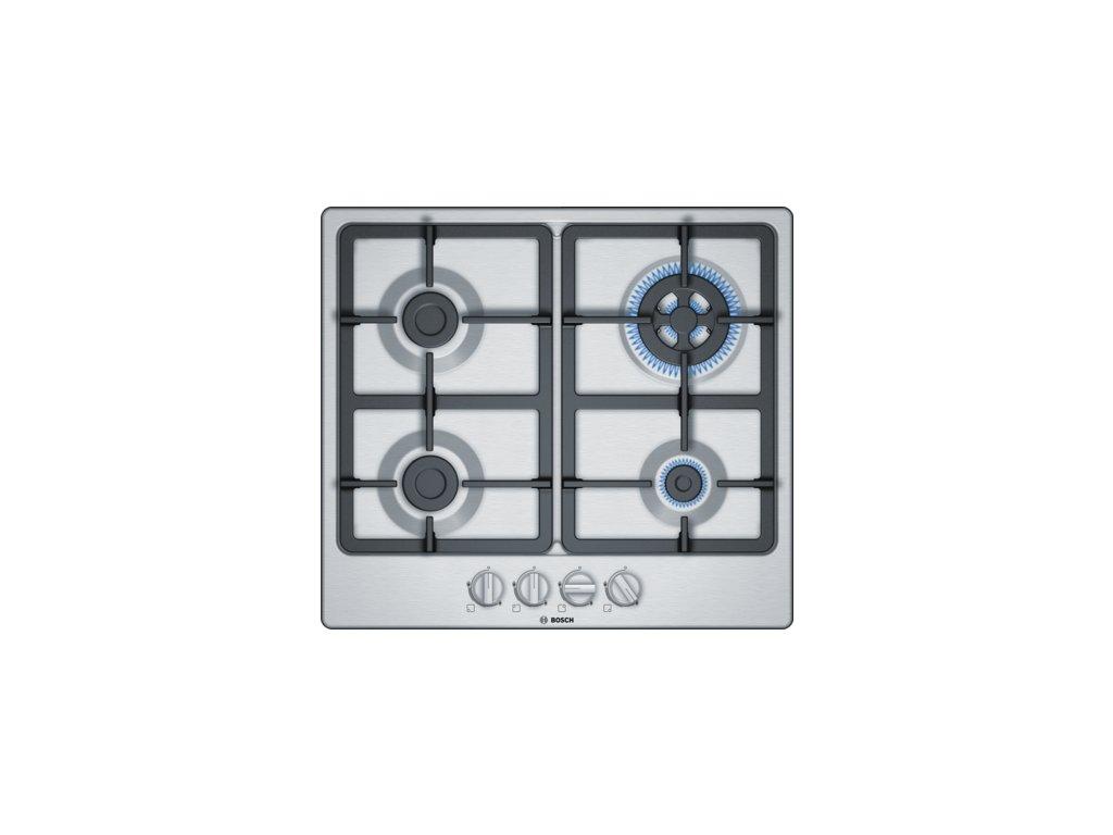 Serie | 4 Plynová varná deska 60 cm Nerez PGH6B5B90