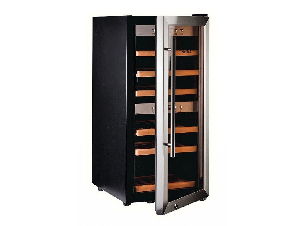 <![CDATA[Humibox, Chladnička na víno HumiBoX US-24 Steel]]>