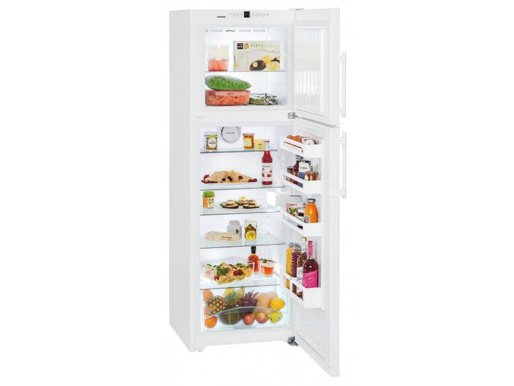 <![CDATA[LIEBHERR, Kombinovaná lednička s mrazákem nahoře CTN 3223]]>
