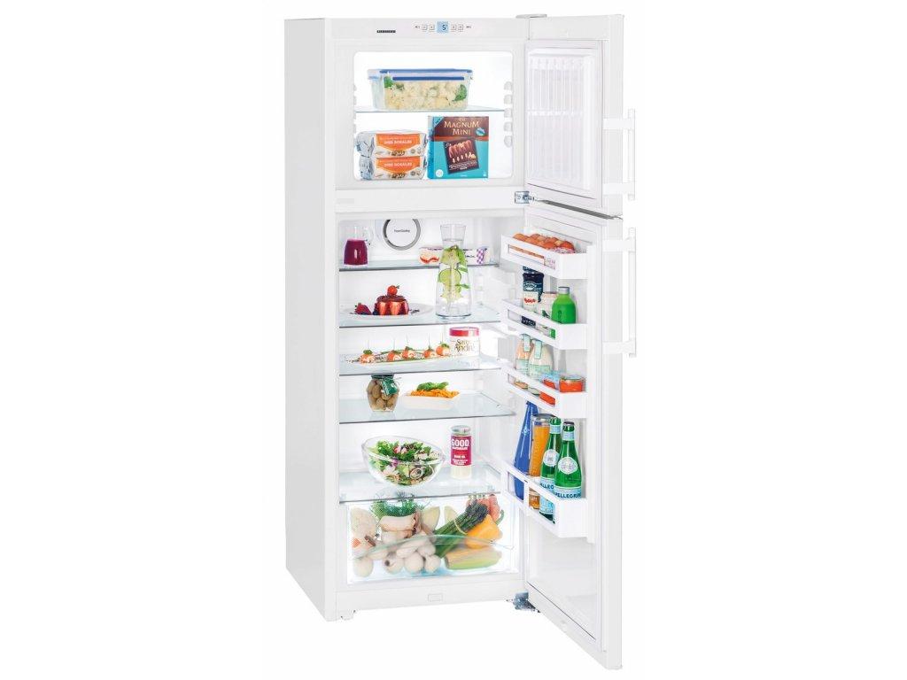 <![CDATA[LIEBHERR, Kombinovaná lednička s mrazákem nahoře CTP 3016]]>