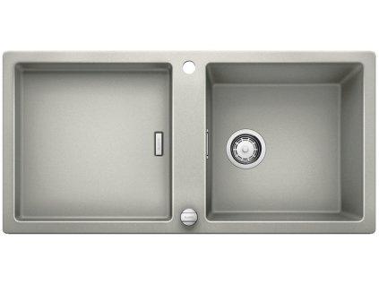 Blanco ADON XL 6 S Silgranit perlově šedá obous. provedení s excentrem přísluš. ano
