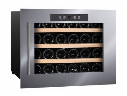 <![CDATA[Humibox, Chladnička na víno HumiBoX BU-24 IN Steel]]>