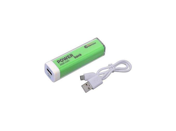 powerbanka zelená