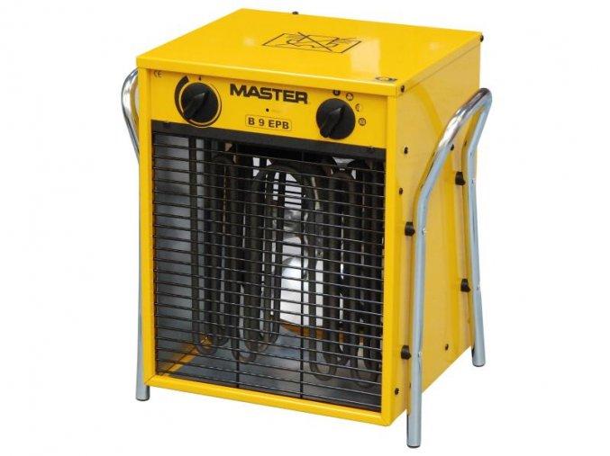 Elektrické topidlo Master s ventilátorem 9kW (400V) B9EPB