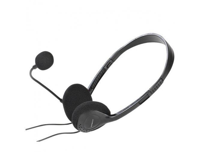 Sluchátka s mikrofonem Vivanco IT-HS BASIC RC 36651