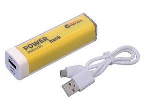 Powerbanka žlutá
