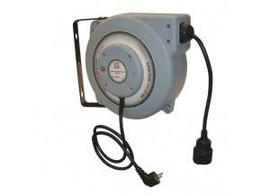 Samonavíjecí buben s elektrickým kabelem Holzmann EKR15M