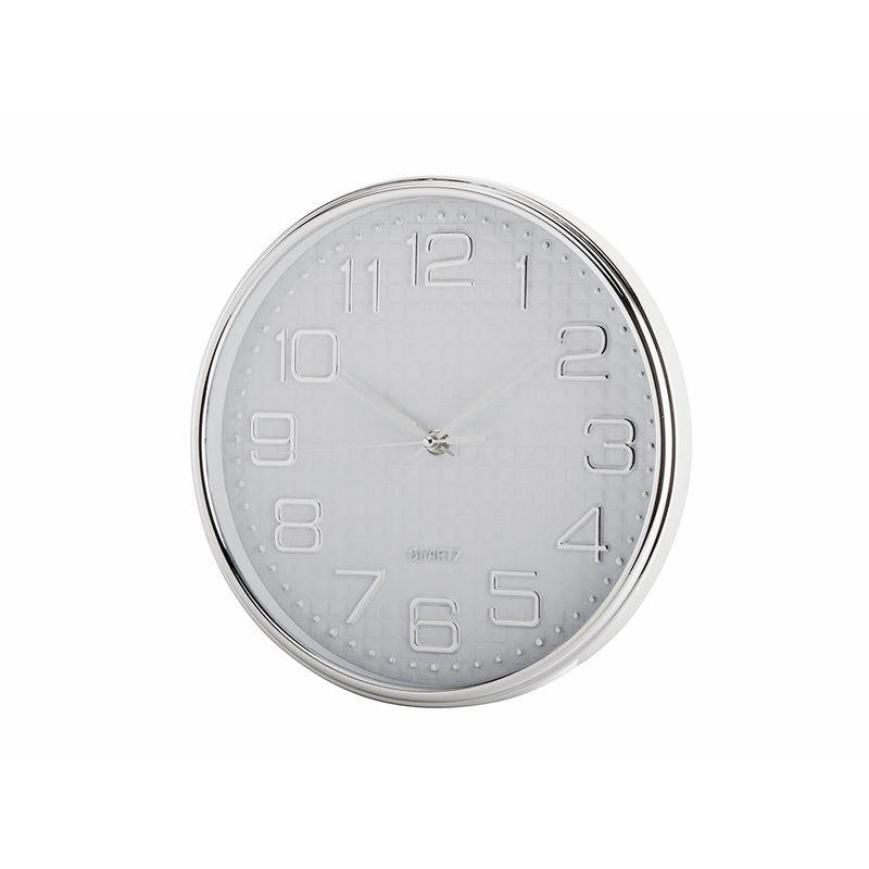 Nástěnné hodiny DIAMONDS bílé 25cm WH-6592