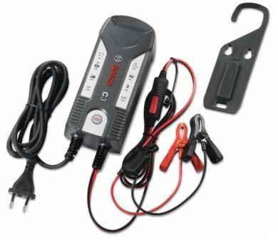 Nabíječka BOSCH C3 Memory 018999903M 6V a 12V akumulátorů, autobaterií a motobaterií