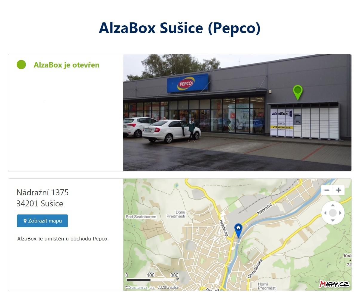 AlzaBox_Sušice_Pepco