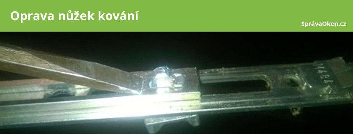 Nůžky kování - oprava