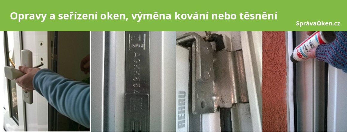 Opravy oken a dveří Praha