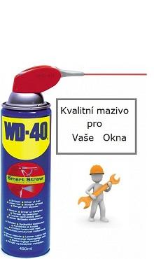 Používáme kvalitní oleje WD40