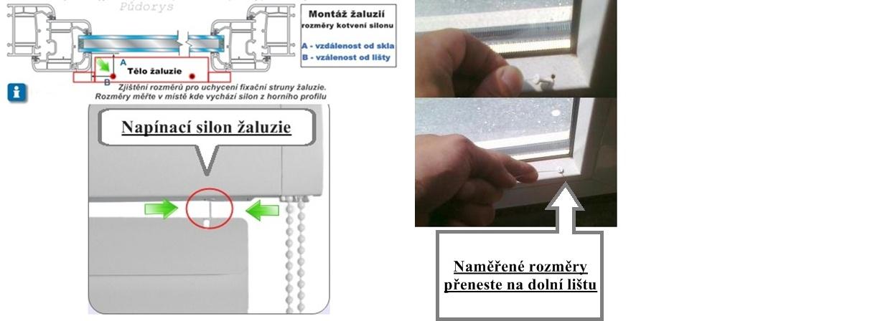 zaluzie-fixace-silonu-do-plastoveho-okna