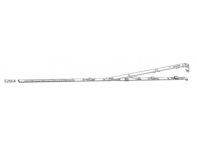 Úhelníkové nůžky pro spárové větrání