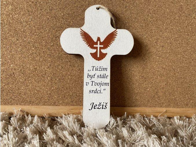 Drevený krížik