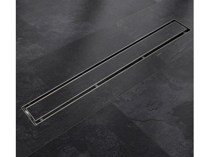 Sprchový podlahový žľab 130 cm - na dlažbu
