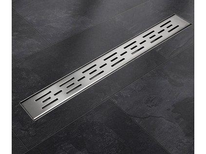 Sprchový podlahový žľab 130 cm - čiary