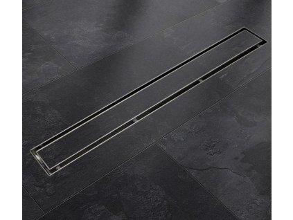 Sprchový podlahový žľab 140 cm - na dlažbu