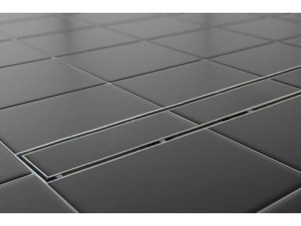Sprchový podlahový žľab 120 cm - na dlažbu 120M04