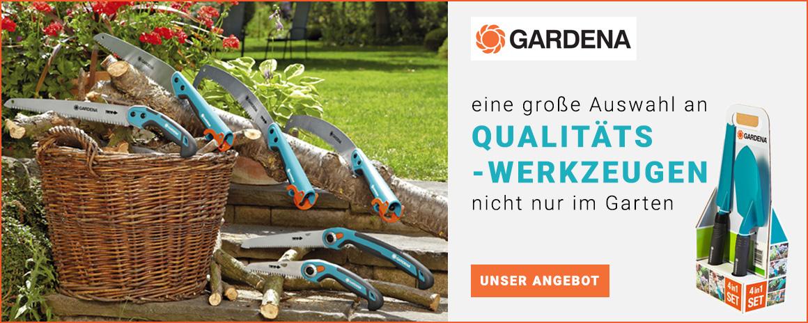 eine große Auswahl an Qualitätswerkzeugen nicht nur im Garten