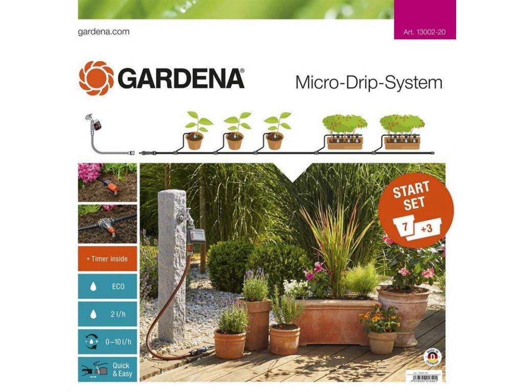 Micro-Drip-System Start Set Pflanztöpfe M automatic (13002)