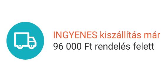 INGYENES kiszállítás már 96 000 Ft rendelés felett