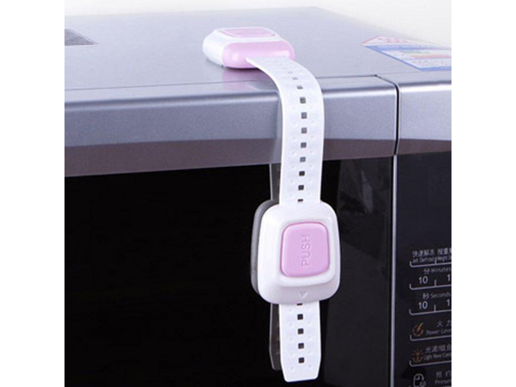 Bezpečnostní páska růžová Basic