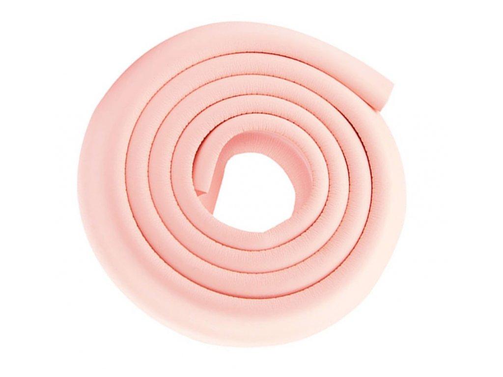 Pěnový chránič hran a rohů nábytku světle růžový 1