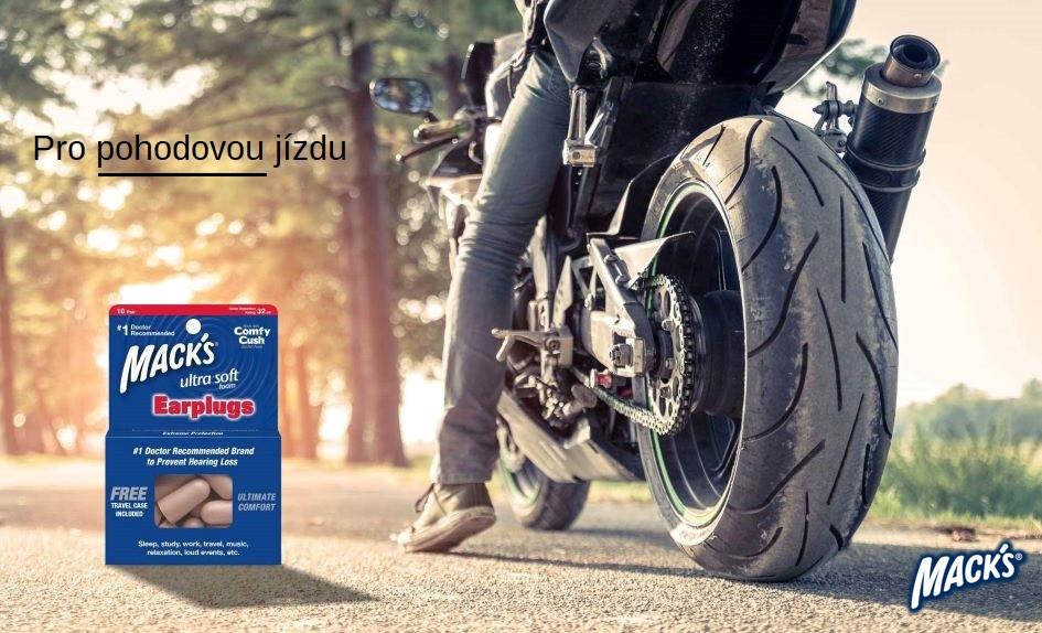 Pro pohodovou jízdu na motorce.