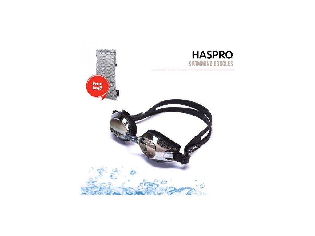 Haspro plavecké brýle černé  Haspro brýle černé