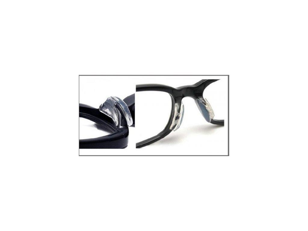 Silikonové nosní opěrky - sedýlka 2,5 mm  Nosní opěrky 2,5 mm