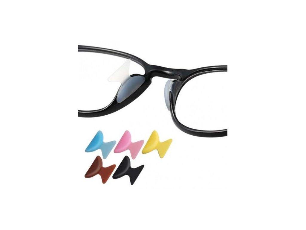 Silikonové nosní opěrky - sedýlka 1,8 mm  Nosní opěrky 1,8 mm