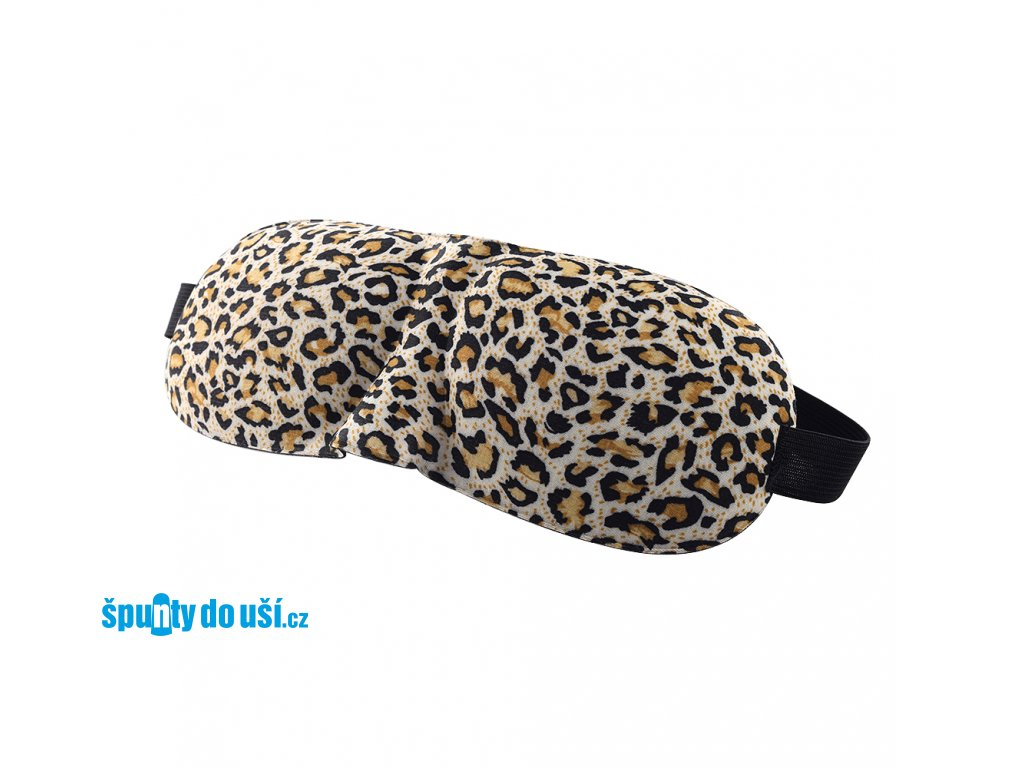 3D Maska na spaní - leopard  Maska 3D leopard 6