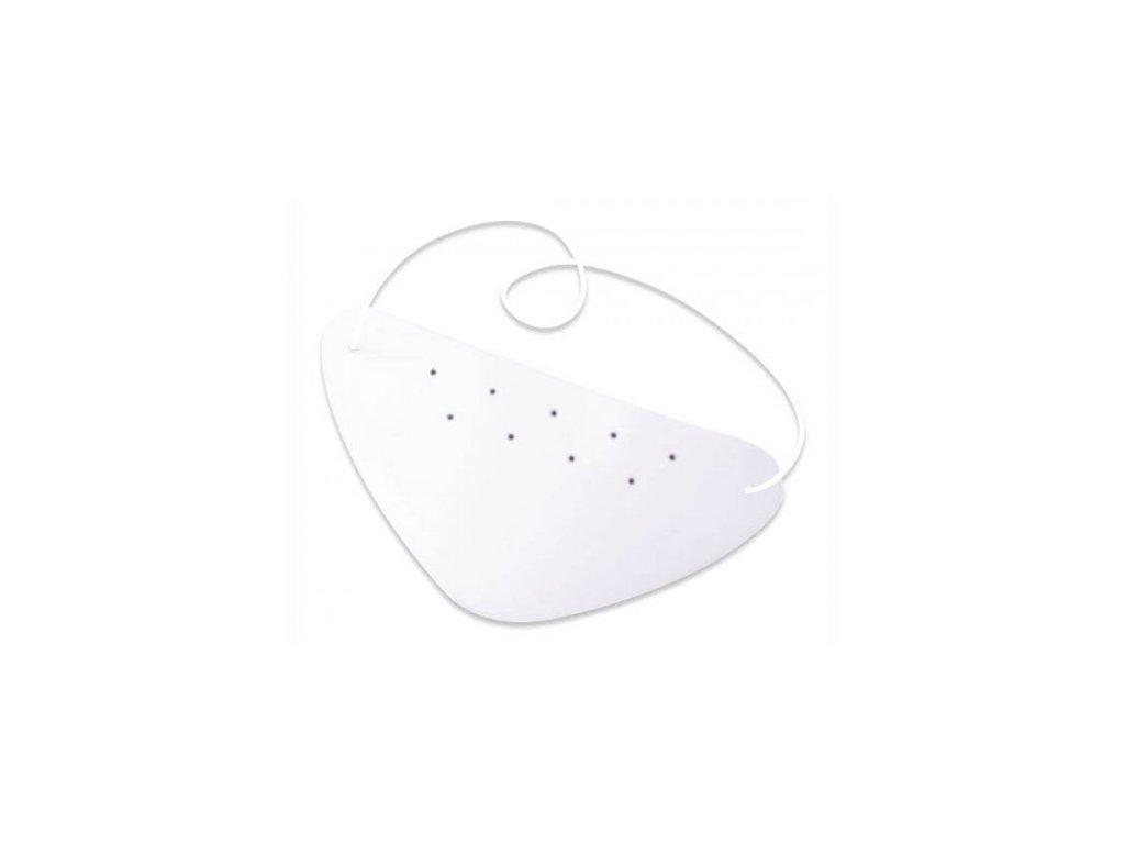 Okluzor - Klapka na oko  S+S Okluzor plast - bílý
