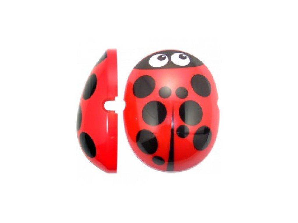 Krytky na dětské chrániče sluchu - Ladybird  Edz Capz Ladybird