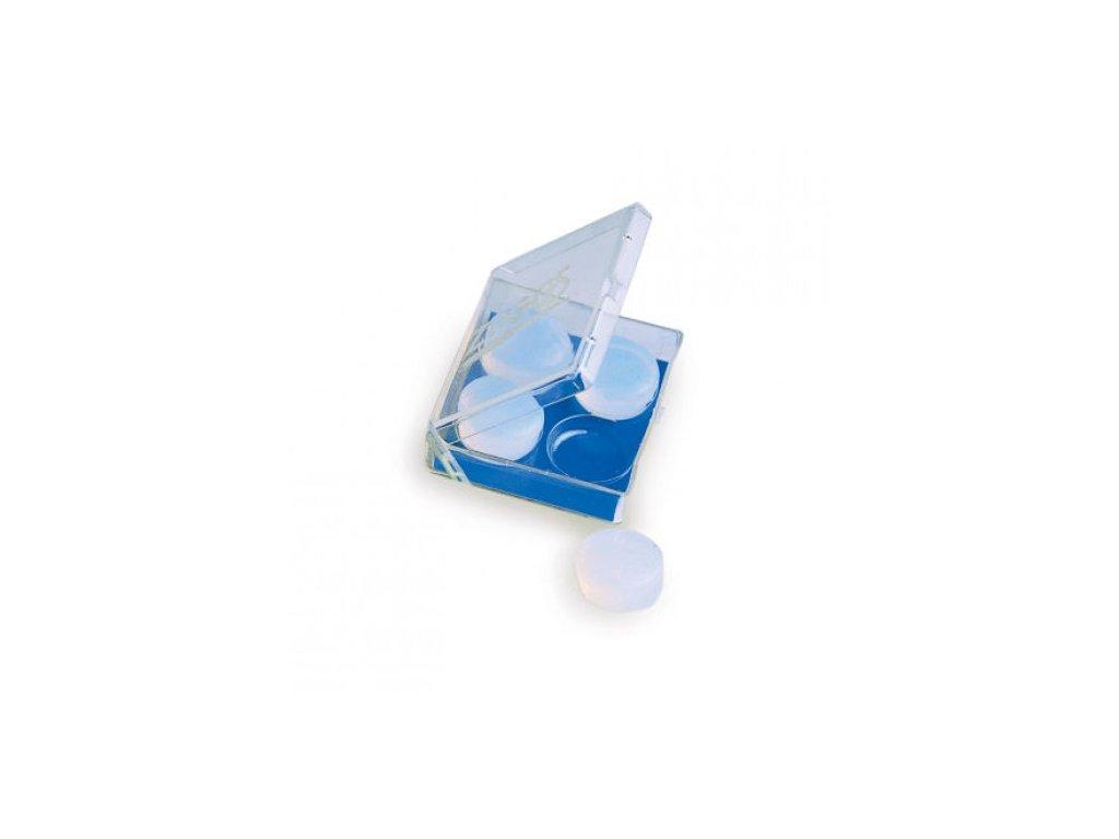 Zoggs silikonové tvarovatelné špunty do uší na plavání  Zoggs tvarovatelné špunty